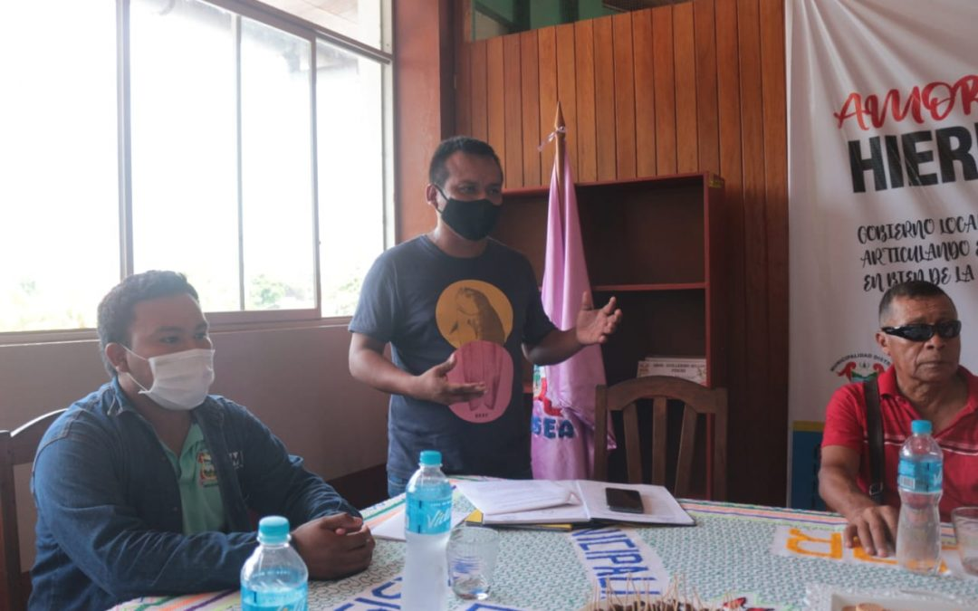 Municipalidad distrital de Masisea realizó reunión para la actualización del comité administrativo del programa vaso de leche.
